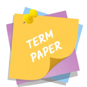 Example Of Cover Page Of Term Paper - broadwayofficecom